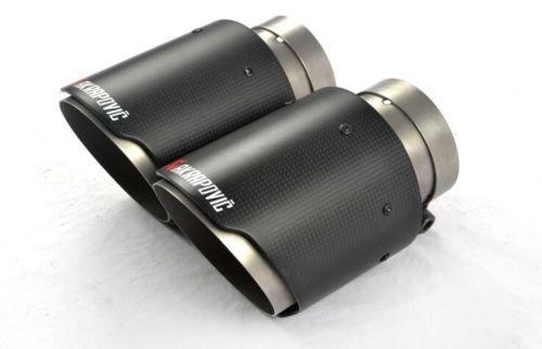 Auspuff Endrohr Blende Carbon Optik