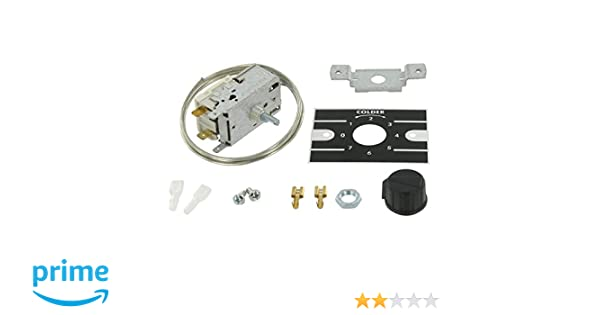 Kühlschrankthermostat Universal : Europart universal vc kühlschrank thermostat kit amazon