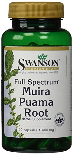 Full-Spectrum Muira Puama Root 400 mg 90 Caps by Swanson