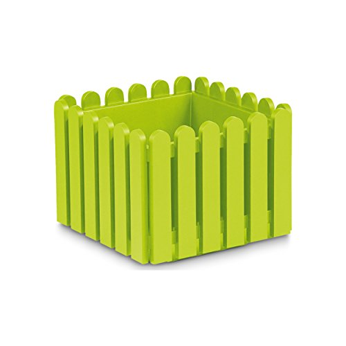 Preisvergleich Produktbild EMSA Landhaus Blumenkübel 38x38x31 cm grün - 508745