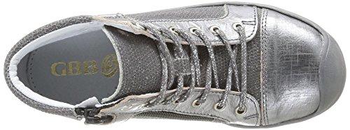GBB Hadel, Chaussures de ville fille Argent (41 Ctv Gris/Taupe)