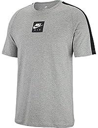 newest 22854 fc628 Nike CLTR Air 3, T-Shirt Uomo, Dark Grey Heather Black