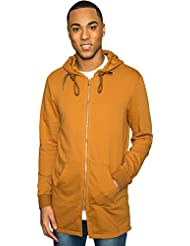 Sweat zippé oversize Sixth June camel 1694C