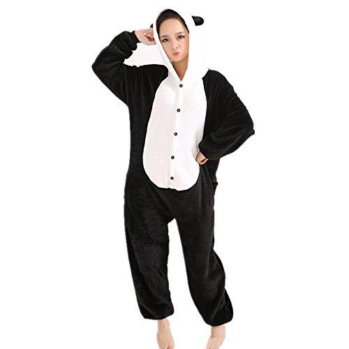 Misslight Unicornio Pijamas Animal Ropa de dormir Cosplay Disfraces Kigurumi Pijamas para Adulto Niños Juguetes y Juegos (S, Panda)