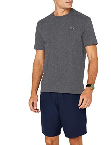 Lacoste Sport Herren T-Shirt TH7618, Grau (Bitume 050), X-Large (Herstellergröße: 6)