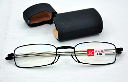 f869ed128d MT151B High Quailty Telescopic Alloy Folding Reading Glasses with 8 Lens  Variations from +1.0 up to +2.75