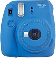Fujifilm Instax Mini 9 Camera Smoky White, Camera, kobalt blauw
