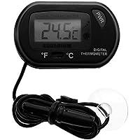 starnearby portátil Digital LCD Termómetro de acuario Fish Tank electrónico de temperatura medidor