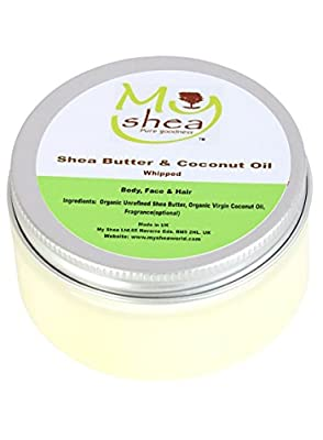 Whipped Organic Shea Butter and Coconut Oil from My Shea Limited
