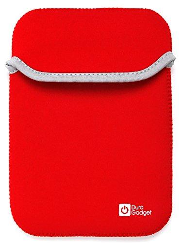 Robuste Neopren-Schutzhülle / Transport-Case in ROSA für Chicco Babys Fotohandy | Fisher-Price Lernspaß Smart Phone BHB90 und Mofun Kinder-Handy Y-Phone Schwarz-Rot