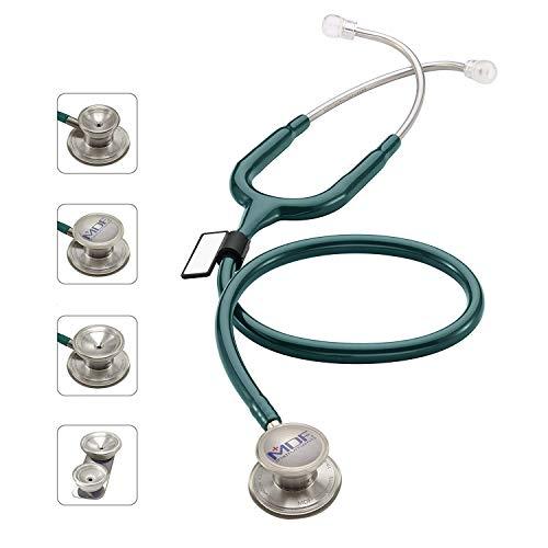 MDF® MD One® Epoch Titanium Stethoskop - Gratis-Parts-for-Life & Lebenslange-Garantie -Smaragdgrün (MDF777DT-21)