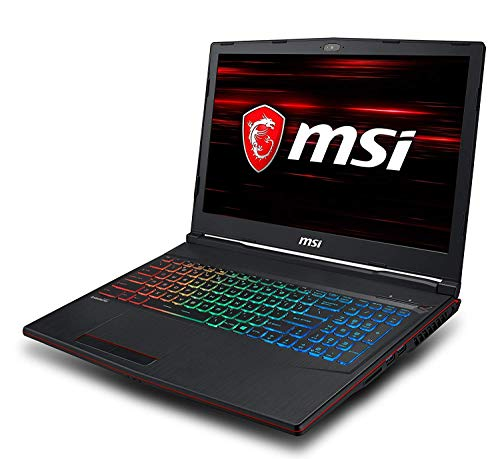 MSI GP63-665XES i7 15.6 inch HDD+SSD Black