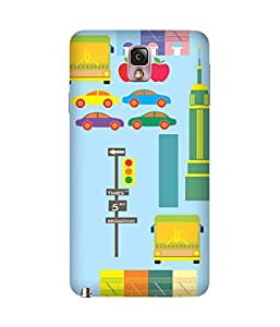 Prints4 Back Cover Case for Samsung Galaxy Note 3