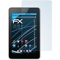 2 x atFoliX Protezione Pellicola dello Schermo Google Nexus 7