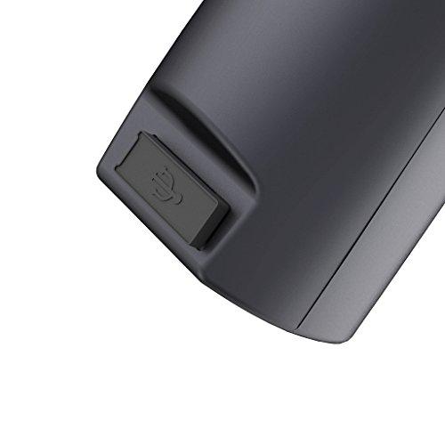 Zhiyun Smooth-Q 3-Axis - Stabilizzatore per Smartphone fino a 6 polici, Controllo Wireless, Modalità Verticale, Shooting Panorama, Nero (Jet Black)