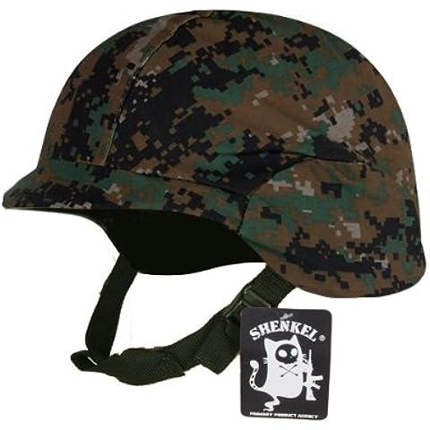 P?xel cubierta de camuflaje verde con los militares de EE.UU. tipo Fritz casco M88 (jap?n importaci?n)