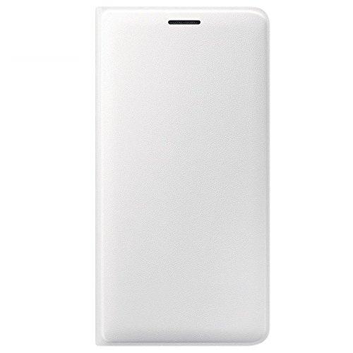 Samsung Flip Wallet Schutzhülle (geeignet für Samsung J3 2016) weiß Samsung Galaxy S Duos Cover
