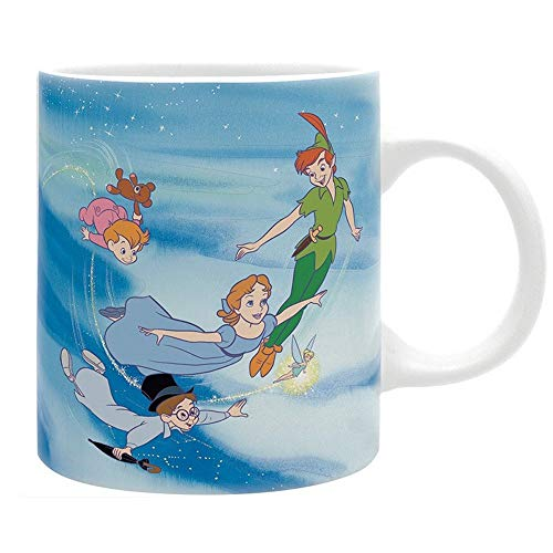 Peter PAN Disney Premium Keramik Tasse - Flying -