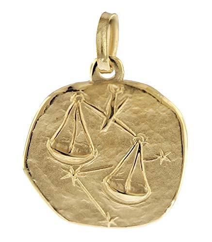 trendor Sternzeichen-Anhänger Waage 333 Gold 16 mm 08734