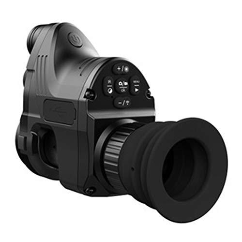 KCaNaMgAl Anblick, Entfernungsmesser, Infrarot, Digital, Schwarz, Schwarz, Nachtsicht-Set für Nachtsicht, für die Jagdvideoproduktion im Freien