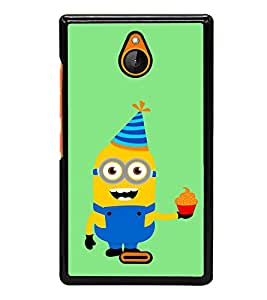 printtech Minions Birthday Back Case Cover for Nokia XL