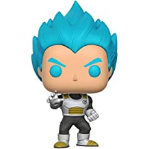 Funko - Figurine Dragon Ball Z - Vegeta Super Saiyan God Blue Pop 10cm - 0889698106993