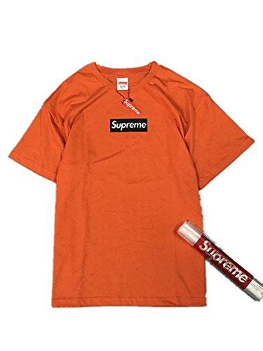 BOMOVO Herren SUPERME Soft Style Box T-Shirt Rundhalsausschnitt 64V00 Orange
