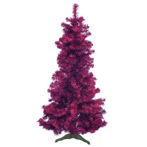 Euro Palms 83500553 Tannenbaum Futura 180 cm, violett/metallic