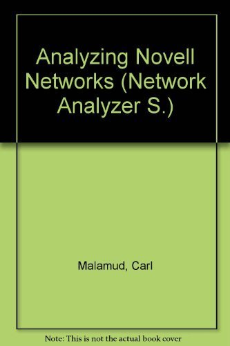 Analyzing Novell Networks by Malamud, Carl (1990) Hardcover