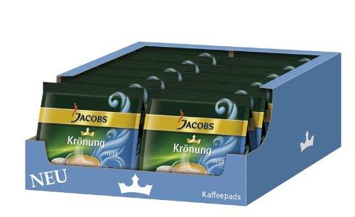 Jacobs Krönung Kaffeepads 'mild', (12x 105 g, 192 Portionen)