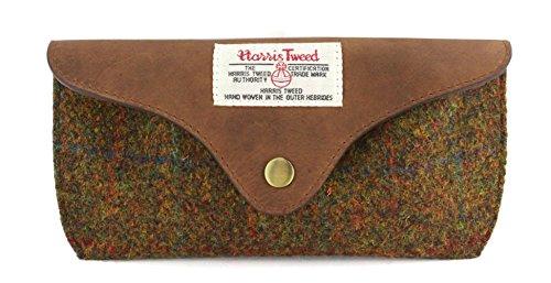Damen oder Herren Harris Tweed Gläser Fall (Braunen)