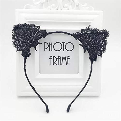 nohren Haarband Reizvolle Spitzen gewoben Stirnband Halloween Weihnachten Festival Party Kopfband Kostüm Accessories für Frauen ()