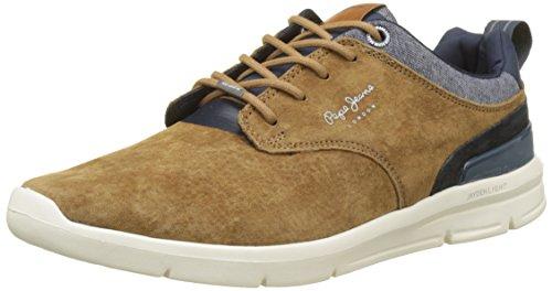 Pepe Jeans Jayden 2.1 Essentials, Sneakers Basses Homme, Bleu