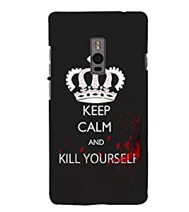 Ebby Premium 3d Desinger Printed Back Case Cover For OnePlus Two (Premium Desinger Case)