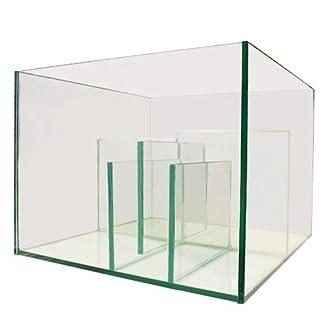 all pond solutions aquarium marine reef fish tank glass sump with refugium 40cm nano & 80cm (40cm) All Pond Solutions Aquarium Marine Reef Fish Tank Glass Sump with Refugium 40cm Nano & 80cm (40cm) 41UCM3C5NwL