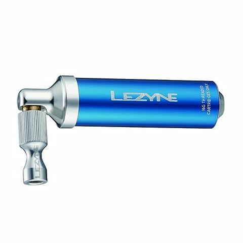 Lezyne Pumpe CO2 Alloy Drive CNC, Blau-Glänzend, 16g, 1-C2-ALDR-V110