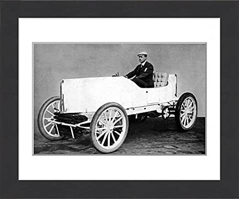 Framed Print of The Hon C. S. Rolls in his