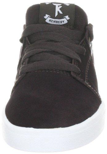 Supra STACKS S44026 Unisex - Erwachsene Sportive Sneakers Braun (BROWN - WHITE BRN)