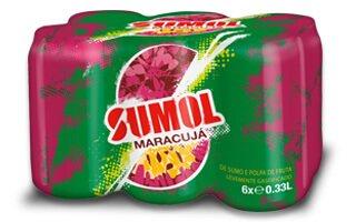 Sumol - Canette Maracuja 6 X 33 Cl