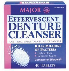Effervescent Denture Cleanser (Compare to Efferdent? by