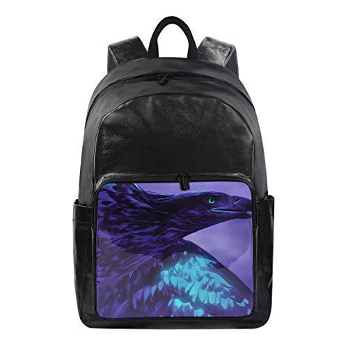 Studenten-Rucksäcke für Schule, Buchtasche, Reisen, Wandern, Camping, Tagesrucksack für Jungen und Mädchen, 31,8 x 22,9 x 44,5 cm, hält 31,8 cm Laptop (Titan Eagle) -