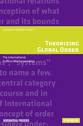 Theorizing Global Order: The International, Culture and Governance (Normative Orders) (Programm Governance)