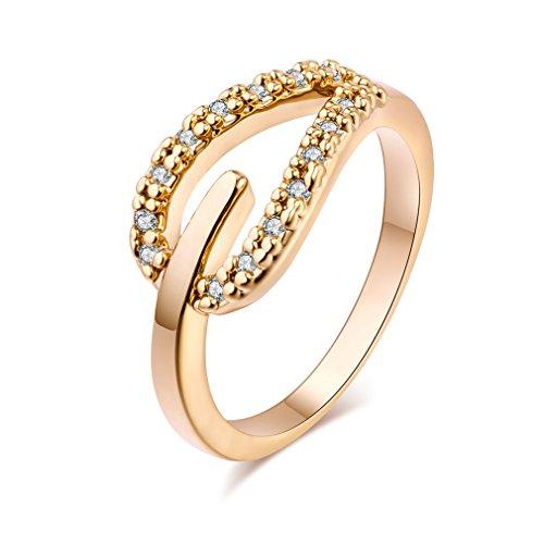 YAZILIND mujeres boda anillos compromiso