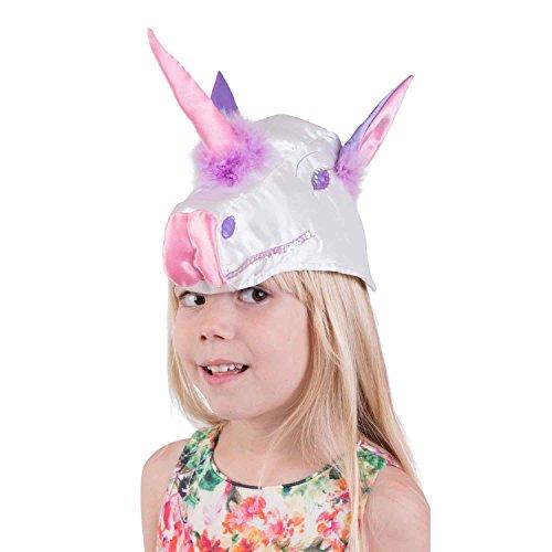 Luxus Einhorn Hut für Kinder - Rosa Einhorn Kostüm Kinder (3-6 Jahre alt) - Lucy - Einhorn Kostüm Hut