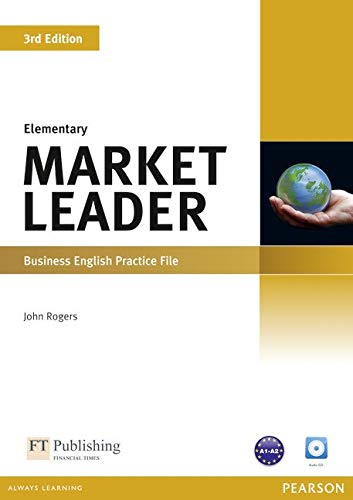 Market Leader 3rd Edition Elementary Practice File & Practice File CD Pack por David Cotton