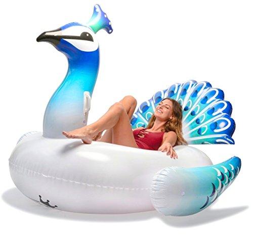 Flotador inflable Piscina flotante Asiento de flotadores inflable de la piscina del...