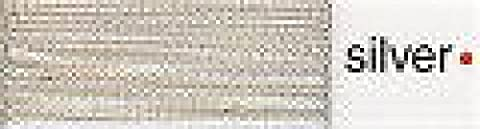 Madeira No 40 Metallic Machine Embroidery Thread 200m Silver -