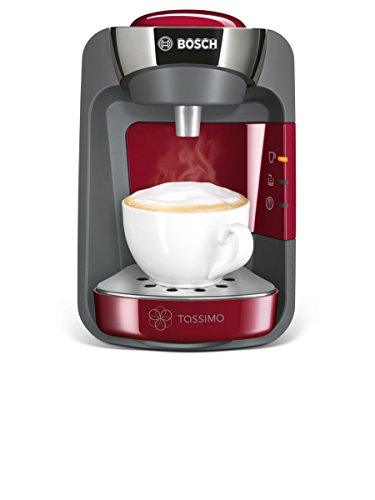 Bosch Tassimo TAS3203GB Suny Hot Drinks and Coffee Machine - Red Best Price and Cheapest