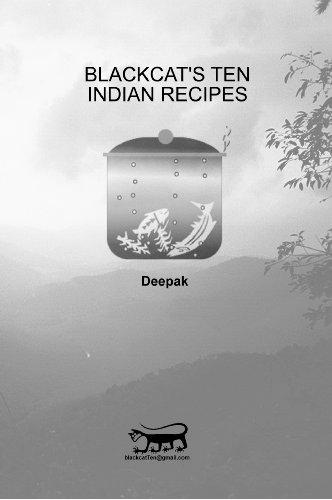 Blackcat's Ten Indian Recipes (Blackcat's Ten Recipes) (English Edition)