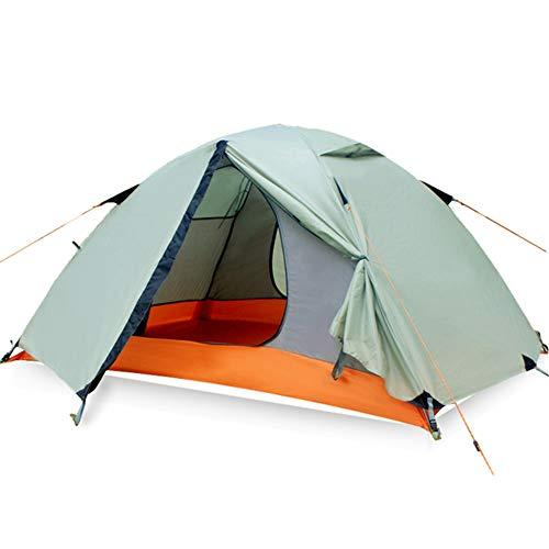 AsgkCnmi Automatische popup-Backpacking Zelte,Wasserdichte & Anti-uv-Faltbare Camping kabine für Park-Strand-Bergsteigen-A 200x140x100cm
